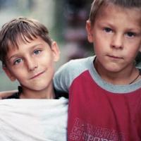Children, Vinnitsya, Ukraine