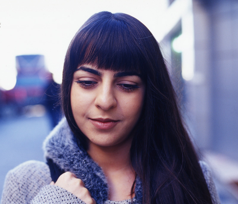 Turkish girl after being harassed