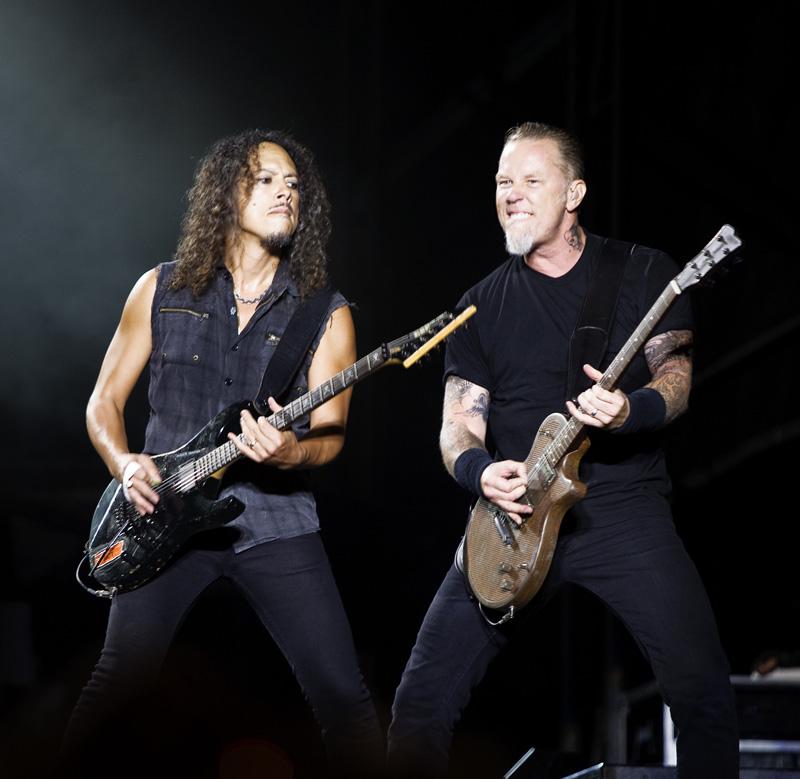 James & Kirk (Metallica)