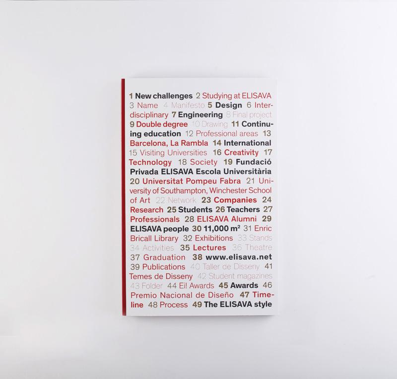 Elisava's annual book