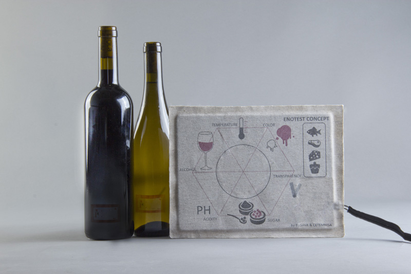 Project Enotest, wine taster