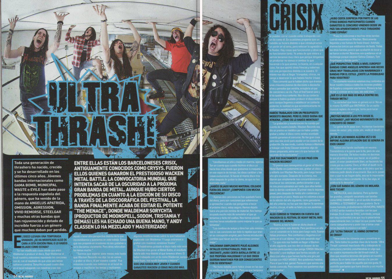 Metal Hammer-Crisix