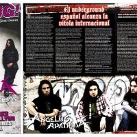 Kerrang nº 200. Angelus Apatrida